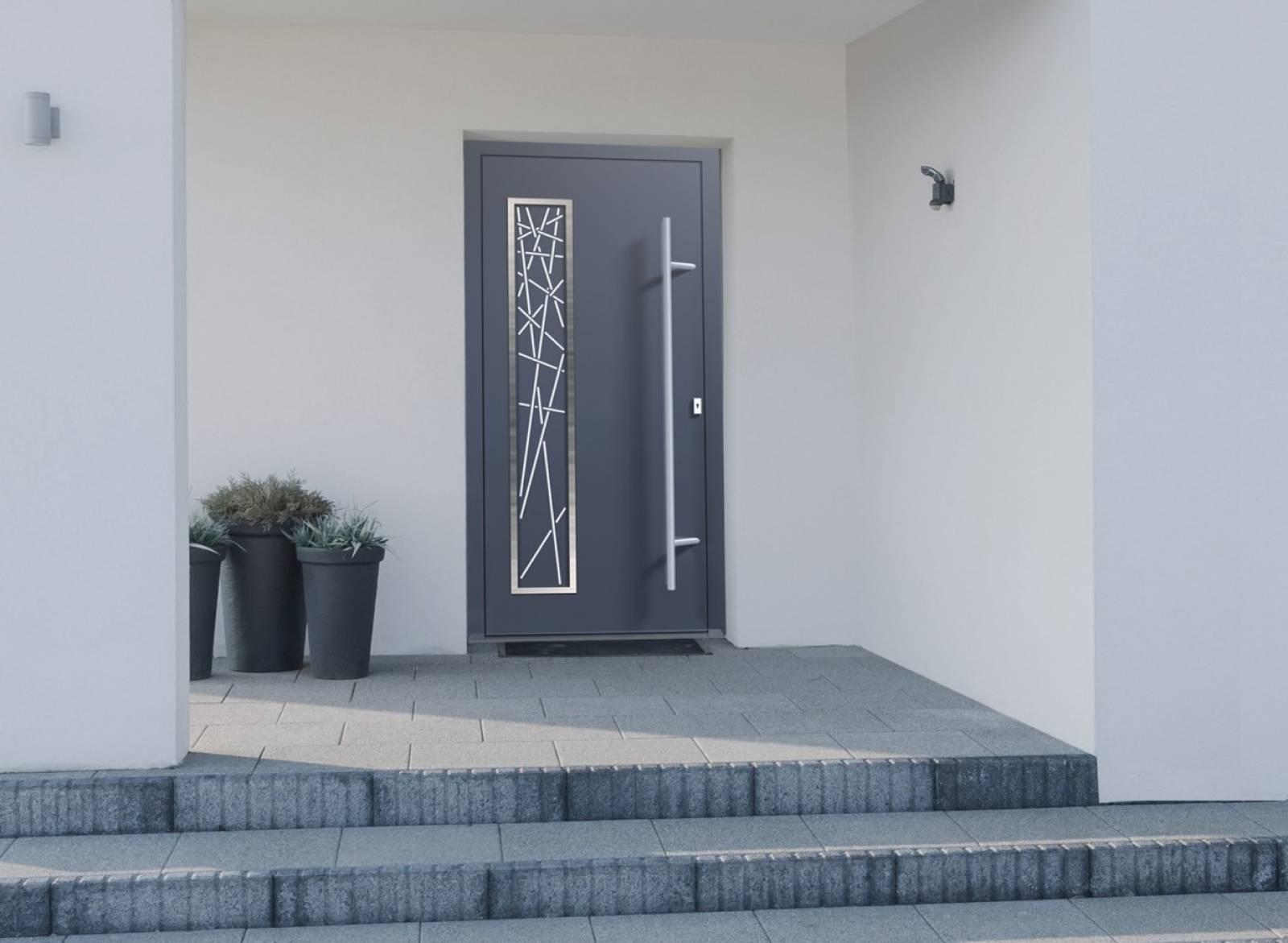 Pose porte d entr e sur mesure aubagne entreprise de for Pose porte entree